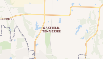 Oakfield, Tennessee map