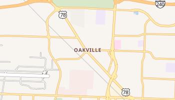 Oakville, Tennessee map