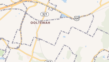Ooltewah, Tennessee map