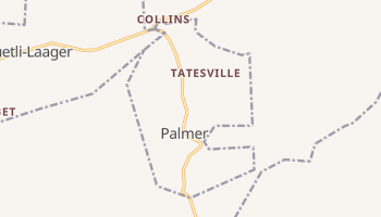 Palmer, Tennessee map