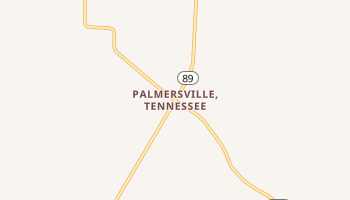 Palmersville, Tennessee map