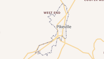 Pikeville, Tennessee map
