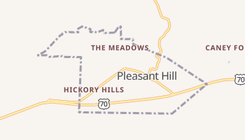 Pleasant Hill, Tennessee map