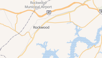 Rockwood, Tennessee map