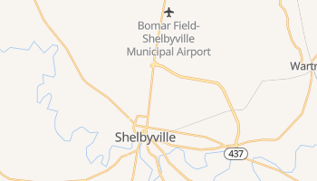Shelbyville, Tennessee map