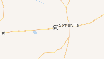 Somerville, Tennessee map