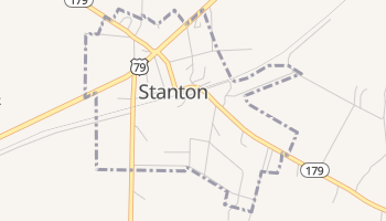Stanton, Tennessee map