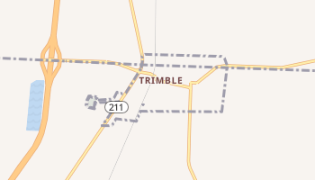 Trimble, Tennessee map