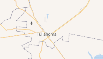 Tullahoma, Tennessee map
