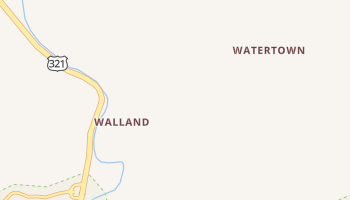 Walland, Tennessee map