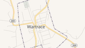 Wartrace, Tennessee map