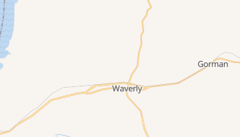 Waverly, Tennessee map
