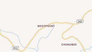 Westpoint, Tennessee map