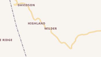 Wilder, Tennessee map