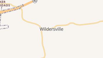 Wildersville, Tennessee map