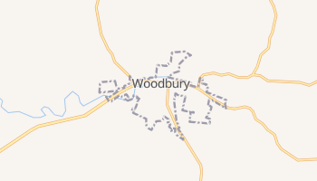Woodbury, Tennessee map