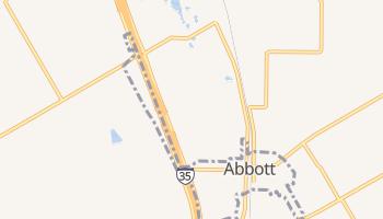Abbott, Texas map