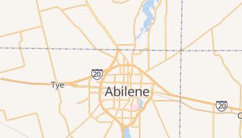 Abilene, Texas map