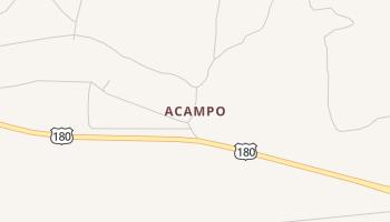 Acampo, Texas map
