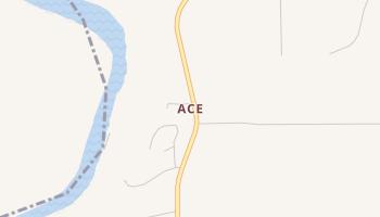 Ace, Texas map
