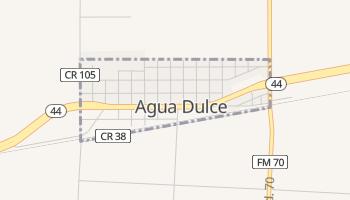 Agua Dulce, Texas map