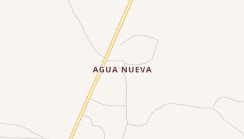 Agua Nueva, Texas map