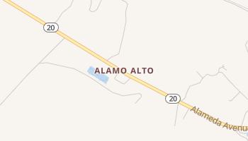 Alamo Alto, Texas map