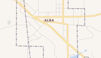 Alba, Texas map