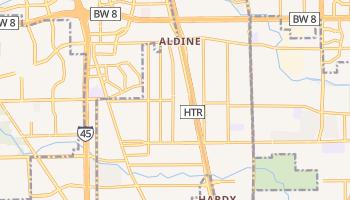 Aldine, Texas map