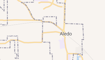 Aledo, Texas map