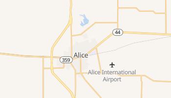 Alice, Texas map