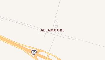 Allamoore, Texas map