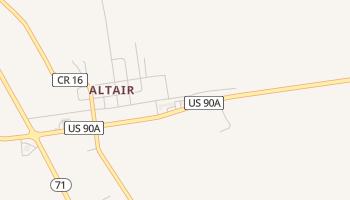 Altair, Texas map