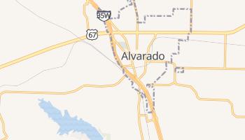 Alvarado, Texas map