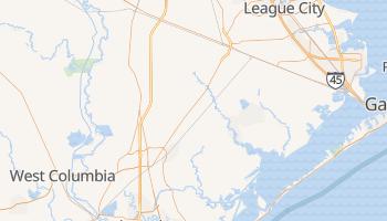 Alvin, Texas map