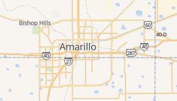 Amarillo, Texas map