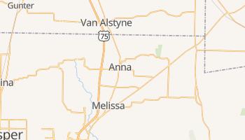Anna, Texas map
