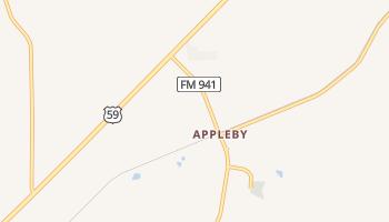 Appleby, Texas map