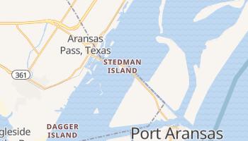 Aransas Pass, Texas map