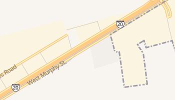 Arcade, Texas map