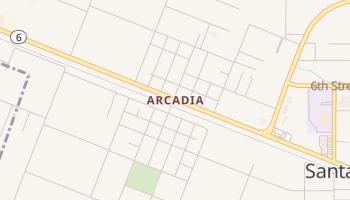 Arcadia, Texas map