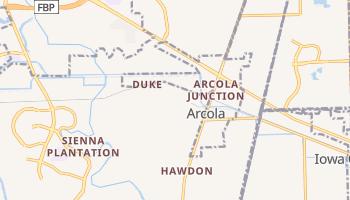 Arcola, Texas map