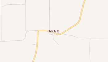 Argo, Texas map