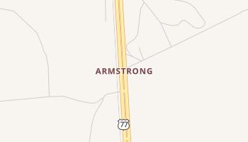 Armstrong, Texas map