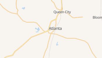Atlanta, Texas map