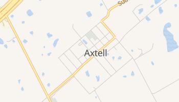 Axtell, Texas map