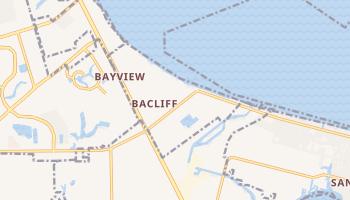 Bacliff, Texas map
