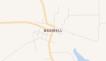 Bagwell, Texas map