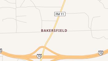 Bakersfield, Texas map