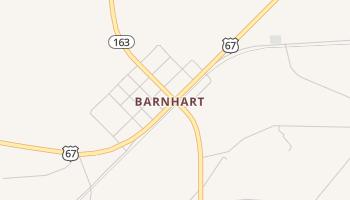 Barnhart, Texas map